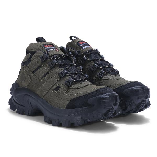 Woodland Olive Green trekking shoes