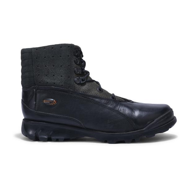 Woodland BLACK high ankle hiking boots