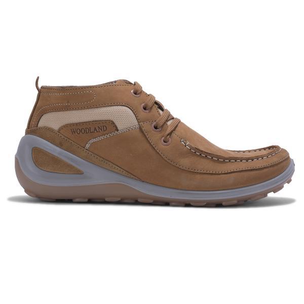 Woodland CAMEL Casual Lifestyle shoes