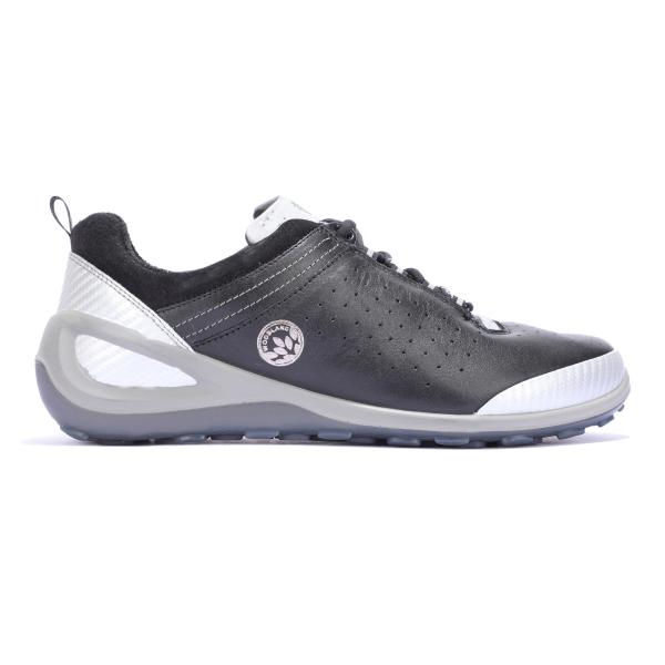Woodland BLACK casual sport shoes