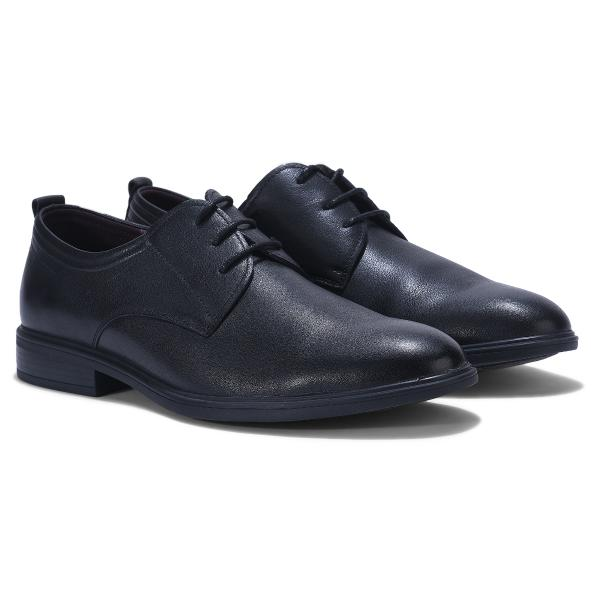 Woods BLACK Oxford shoes for men
